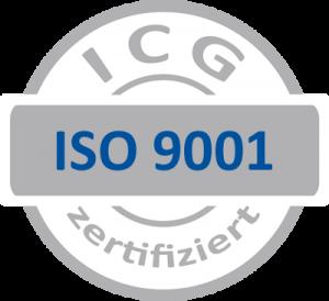 ISO 9001_grau-blau ICG